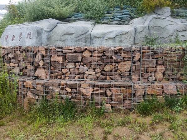 电焊石笼网-景观工程